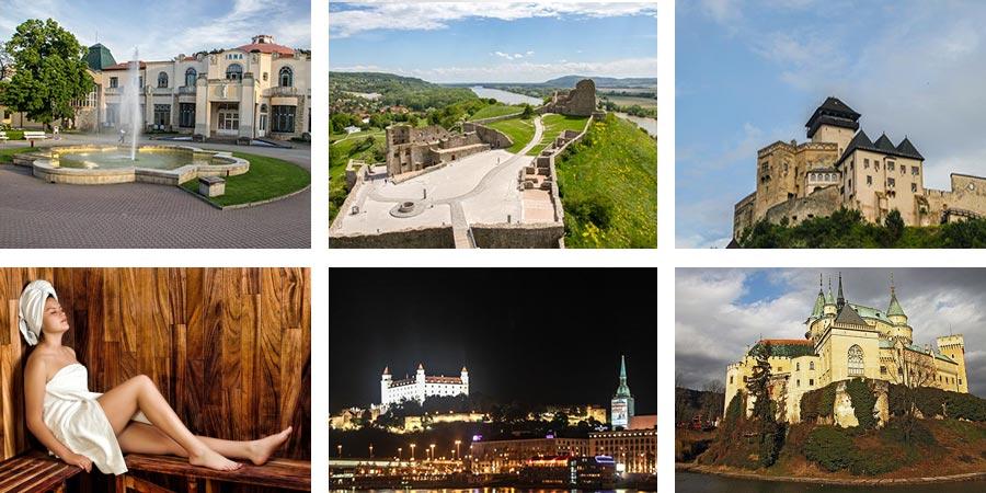 Slovakia Travel itinerary, Bratislava Trencin, Piestany, Devin, Bojnice