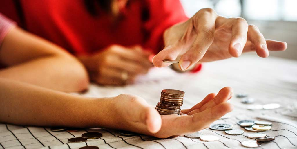money, coins, budget