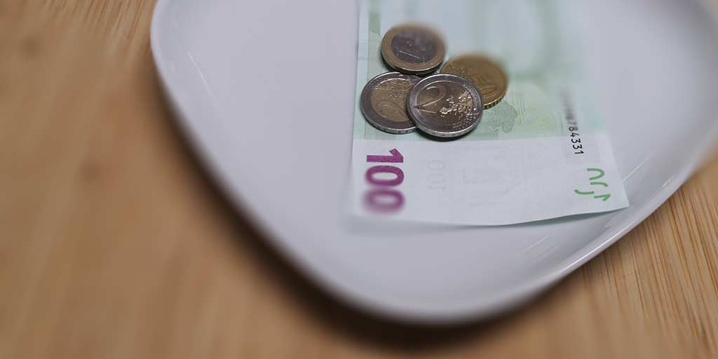 Tipping in restaurants in Slovakia