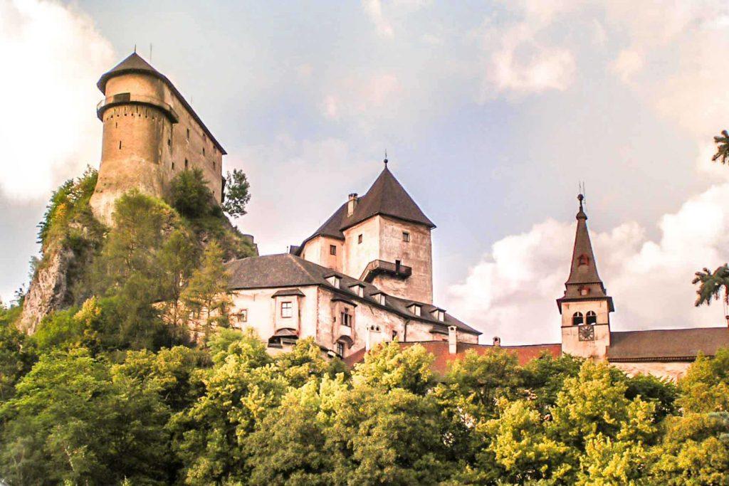 Orava castle, Slovakia, Author: Harassek. Wikimedia + postprocess VP