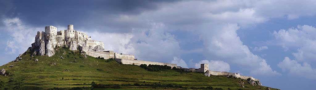 "CoolSLovakia"" Spis castle, Slovakia, source: Wikimedia, Pierre Bona"
