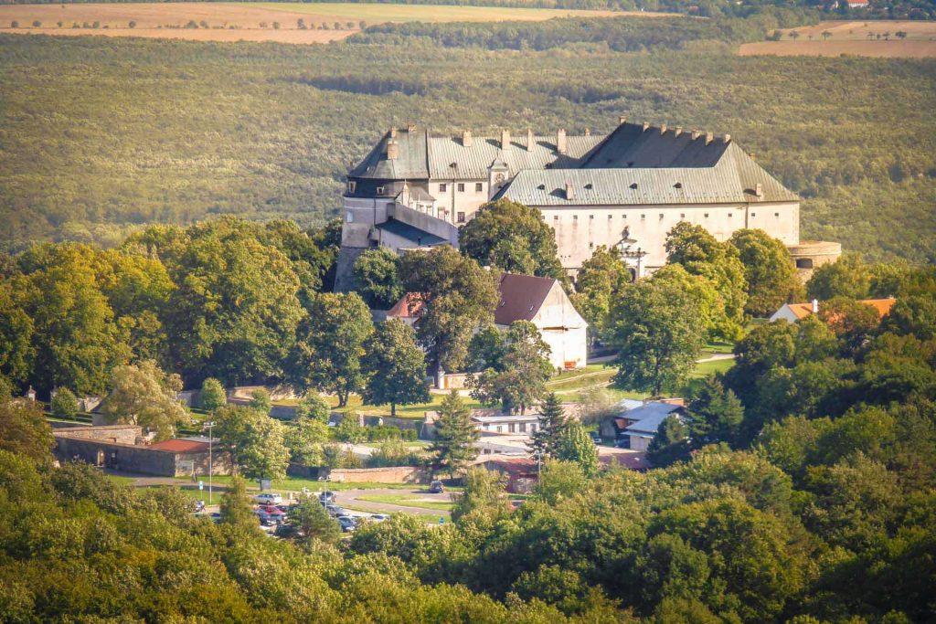 Cerveny kamen castle, Slovakia, Author: Harassek. Wikimedia + postprocess VP