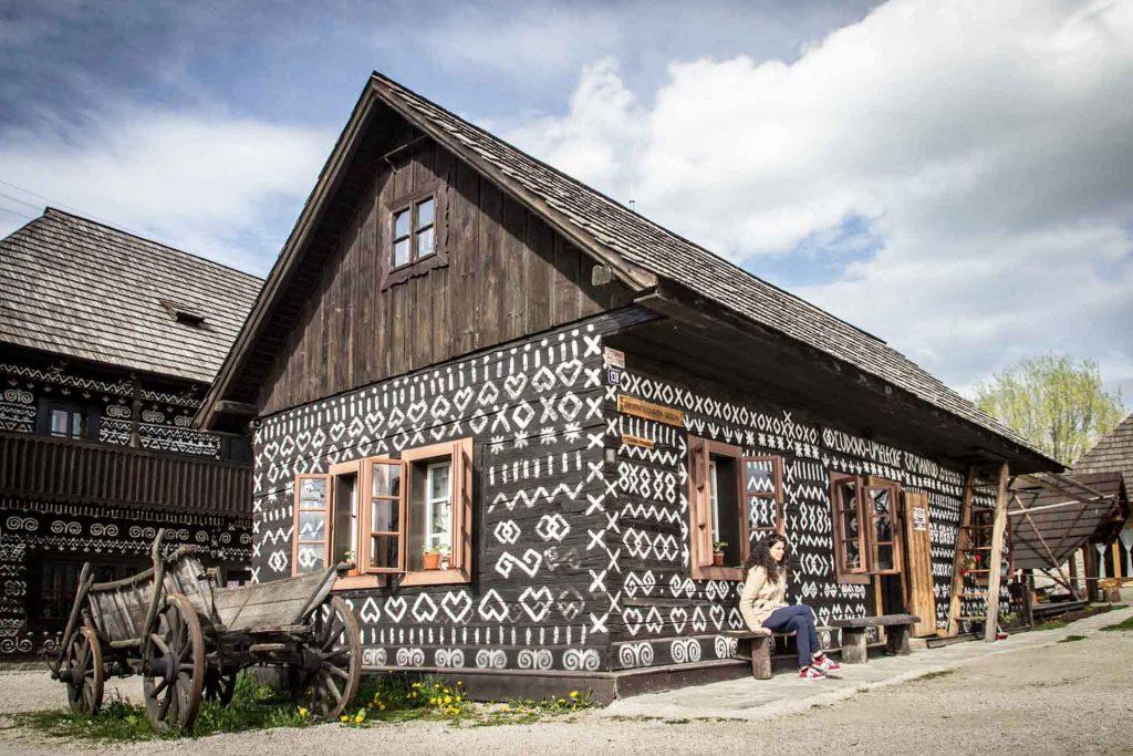 Cicmany, Cultural village, Slovakia Author: Vladimir Pauco