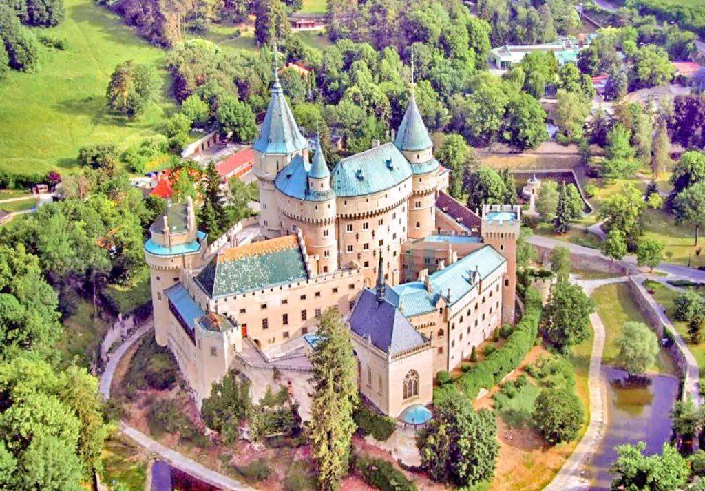 Bojnice, Slovakia, Author: Peter1170 Wikimedia + postprocess VP